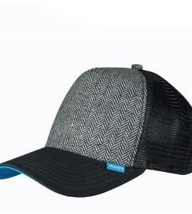 Djinns-HFT-Tweed-Combo-Trucker-Cap-Farbe-black-one-Size-0