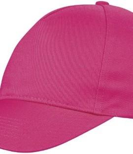 Kinder-Baseball-Cap-Euro-100-Baumwolle-im-13-Farben-Cerise-Pink-0
