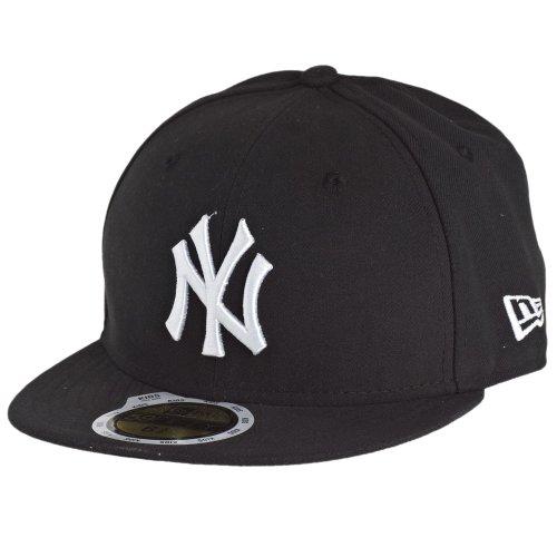New-Era-Kids-59Fifty-Cap-NY-YANKEES-Black-White-Size6-58-0