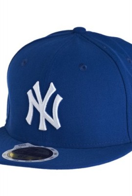 New-Era-Kids-59Fifty-Cap-NY-YANKEES-Royal-White-Size6-12-0
