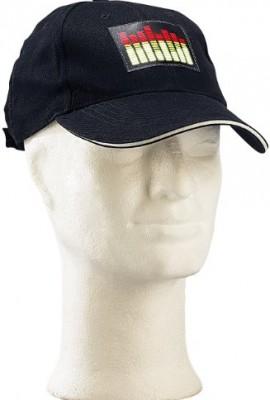PEARL-Baseball-Cap-mit-leuchtendem-Equalizer-Panel-8-Kanal-0