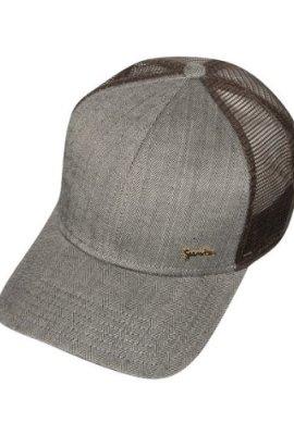Djinns-LFT-Harris-Tweed-Trucker-Cap-Farbe-darkbrown-one-Size-0