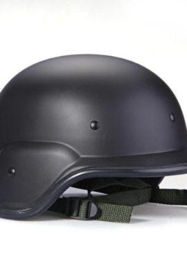 1x-Army-Military-Helm-Kunststoffhelm-Gefechtshelm-Helmet-Schwarz-0