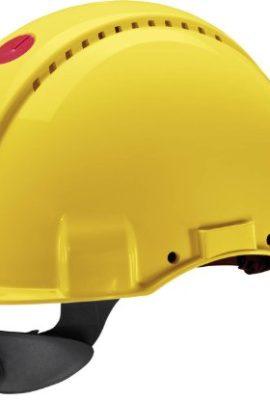 3M-Peltor-Schutzhelm-G3000-G30NUY-mit-3M-Uvicator-Sensor-ABS-mit-Schweiband-und-Ratschensystem-belftet-gelb-0