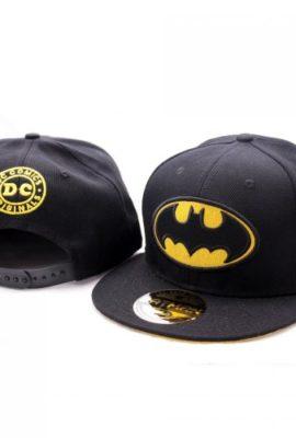 DC-Comics-Batman-Baseball-Cap-Classic-Logo-Herren-Snapback-Cap-0
