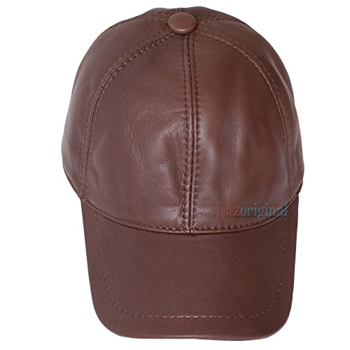 Coole  Leder Cap  Basecap Ledermütze  Echtes Leder  NEU