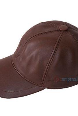 Leather-Cap-100-Lammfell-Leder-Basecap-Leather-Baseball-Cap-Herren-Cap-Basecap-Hellbraun-Light-brown-Baseballmtze-Herrencap-Sportmtze-Western-cap-leder-cap-Geschenk-0