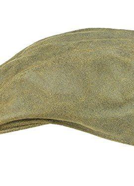 MACARIO-braun-Flatcap-Schirmmtze-aus-Antikleder-von-Rassow-0