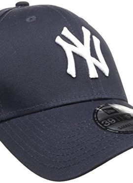 New-Era-Herren-Baseball-Cap-Mtze-MLB-Basic-NY-Yankees-39-Thirty-Stretch-Back-0