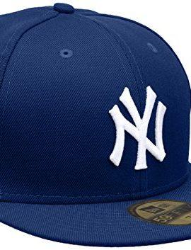 New-Era-Herren-Baseball-Cap-Mtze-MLB-Basic-NY-Yankees-59-Fifty-Fitted-0
