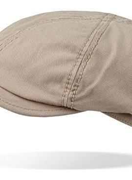 Schiebermtze-Gatsby-Flat-Cap-aus-gewaschener-Canvas-Baumwolle-in-verschiedenen-Farben-0