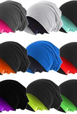 Slouch-Long-Beanie-Reversible-Strickmtze-2-in-1-Wintermtze-in-48-Farben-0