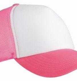 Trucker-Mesh-Baseball-Cap-in-Polyester-in-Neon-Pink-0