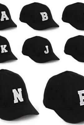 Unisex-Jungen-Mdchen-Mtze-Baseball-Cap-Hut-Kinder-Kappe-Alphabet-A-Z-Morefaz-TM-0