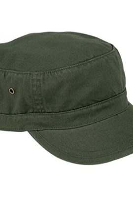 Urban-Basic-Army-Cap-Havanna-Baumwolle-Kuba-Metallschnalle-0